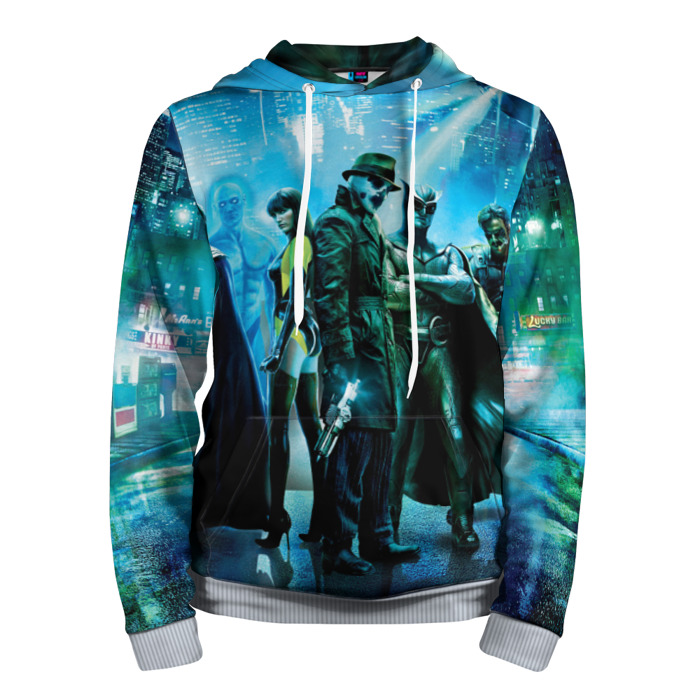 Buy Hoodie Watchmen Main Movie Cover All Characters Merchandise collectibles