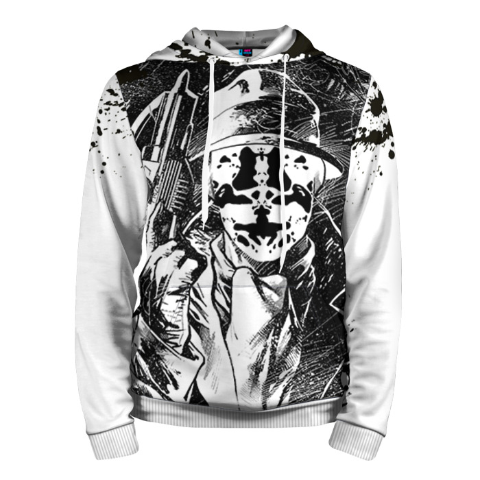 Buy Hoodie Rorschach Watchmen Merchandise Guys Clothing Merchandise collectibles