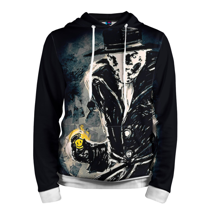 Buy Hoodie Watchmen Rorschach Merchandise Guys Clothing Merchandise collectibles