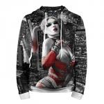 Merchandise Hoodie Harley Quinn Game Arkham Hood