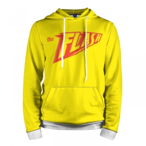 Buy Hoodie The Flash Yellow Red Sign Logo Jacket Merchandise collectibles