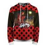 Collectibles Tales Of Ladybug Hoodie Red Pattern
