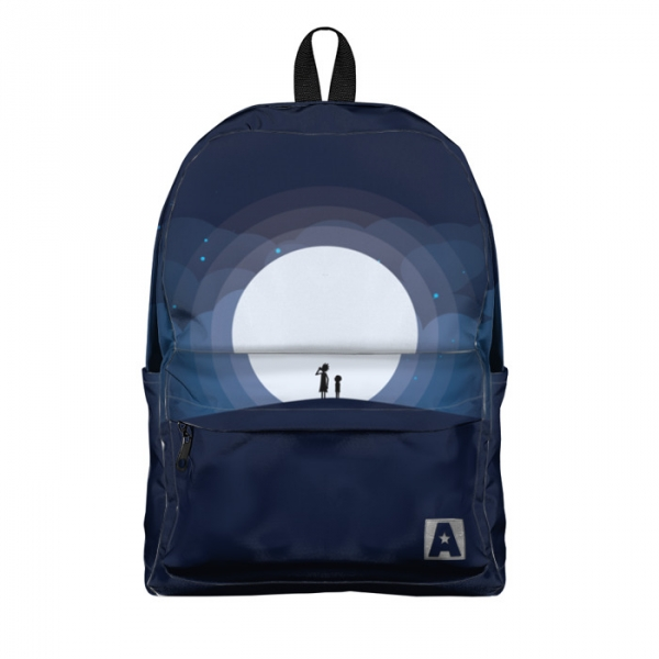 Buy Backpack Rick and Morty Moonlight Characters School Bag merchandise collectibles