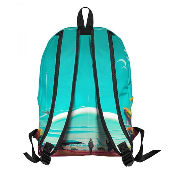 Buy Backpack Rick and Morty Rick Sun Lemon School Bag merchandise collectibles