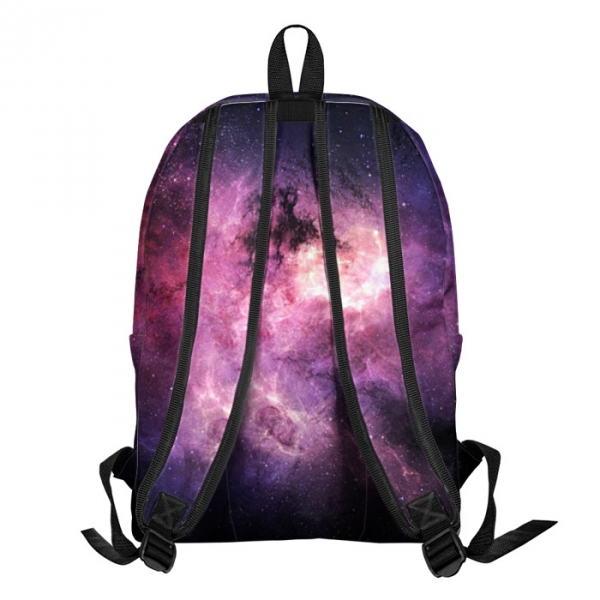 Buy Backpack Rick and Morty Space Galaxy School Bag merchandise collectibles