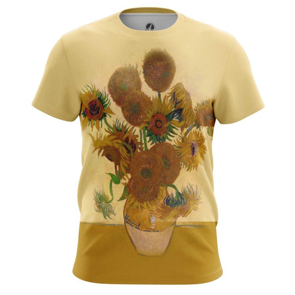 Merchandise Long Sleeve Vase With Twelve Sunflowers Oil Paint Vincent Van Gogh