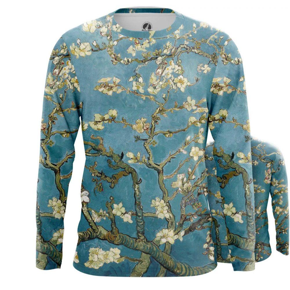 Merchandise Long Sleeve Almond Blossoms Painting Vincent Van Gogh