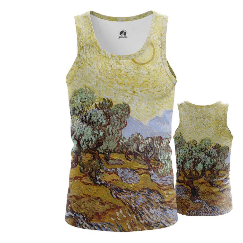 Merchandise T-Shirt Olive Trees Vincent Van Gogh