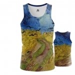 Collectibles - Tank Wheatfield With Crows Painting By Vincent Van Gogh Vest