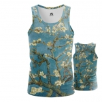 Collectibles - Tank Almond Blossoms Painting By Vincent Van Gogh Vest