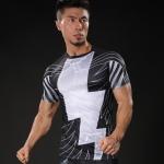 Merch Workout Shirt Shazam White Flash