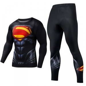 Merchandise Superman Rashguard Set Armor Costume