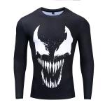 Merchandise Rash Guard 2019 Venom Movie Workout Shirt