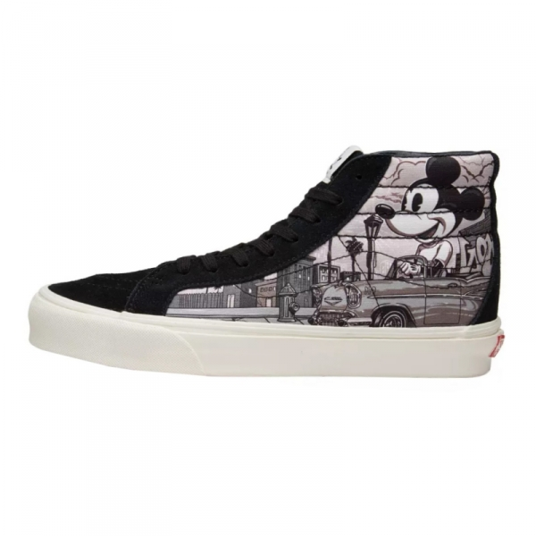 9003790083d2 Buy VANS Sk8 Hi Mickey Mouse Classic Black and White Screen Merchandise  collectibles