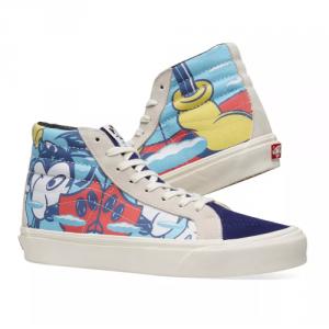 Merchandise Vans Sk8-Hi Mickey Mouse Shoes Cartoon Merchandise