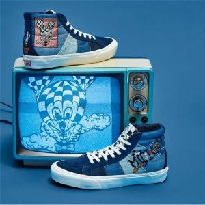Merchandise Vans Sk8-Hi Mickey Mouse Blue Shoes Edition