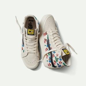 Merchandise Vans Sk8-Hi Spongebob Squarepants White Shoes