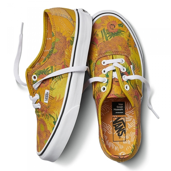 2b4725148d1c Buy VANS Authentic Lite Vincent van Gogh Series Sunflowers Merchandise  collectibles
