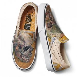 Merchandise Vans Classic Slip-On Vincent Van Gogh Series Skull