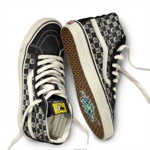 Merchandise Vans Sk8-Hi Spongebob Squarepants Black Shoes