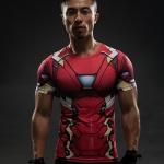 Merchandise Mark Xlvi Rash Guard Iron Man Armor