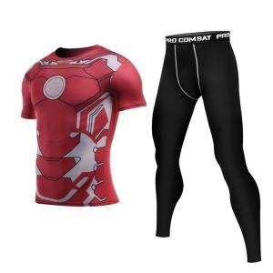 Merchandise Iron Man Armor Rashguard Set Costume