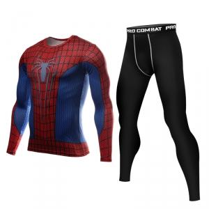 Merch Spider-Man Rashguard Set Long Sleeve Leggings