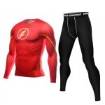Merchandise Flash Rashguard Set Long Sleeve Leggings