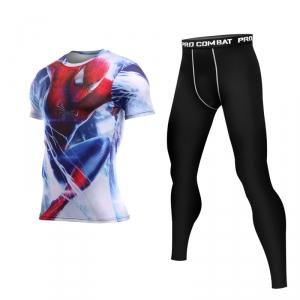 Merch Movee Cover Spider-Man Rashguard Set Costume