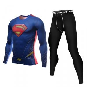 Merchandise Superman Rashguard Set Pants + Jersey