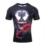 Merchandise Symbiote Rashguard Venom Workout Tee