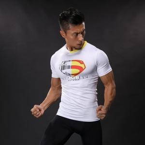 Collectibles Workout Shirt Superman White Logo