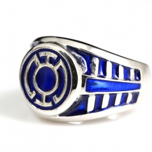 Buy New Flat Blue Lantern Ring
