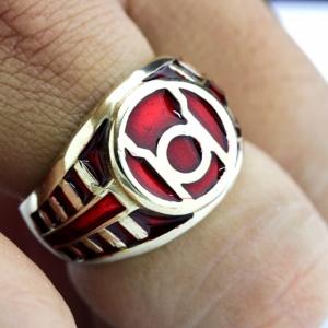 Lantern Signet Brass Ring