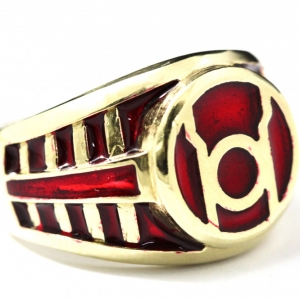 Buy New Flat Red Lantern Ring