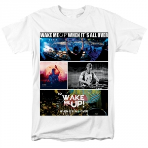 Collectibles - T-Shirt Avicii Wake Me Up When It'S All Over