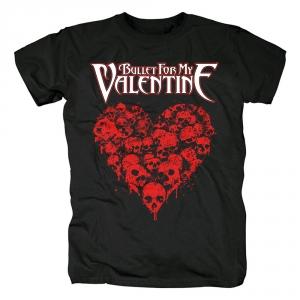 Merchandise T-Shirt Bullet For My Valentine Heart Of Skulls