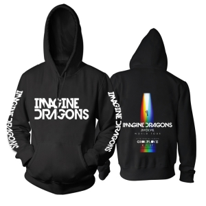 Merch Hoodie Imagine Dragons Evolve Tour With Grouplove K.flay Pullover