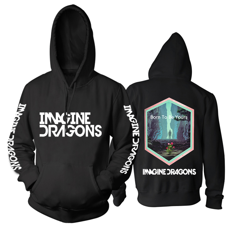 Collectibles Imagine Dragons Hoodie Born To Be Yours Pullover