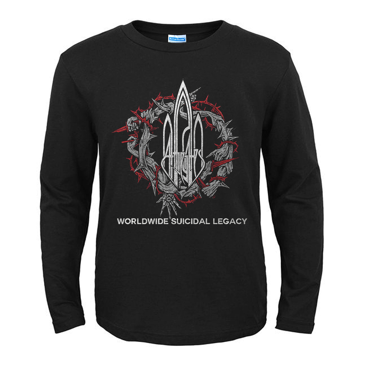 Merch T-Shirt At The Gates Worldwide Suicidal Legacy