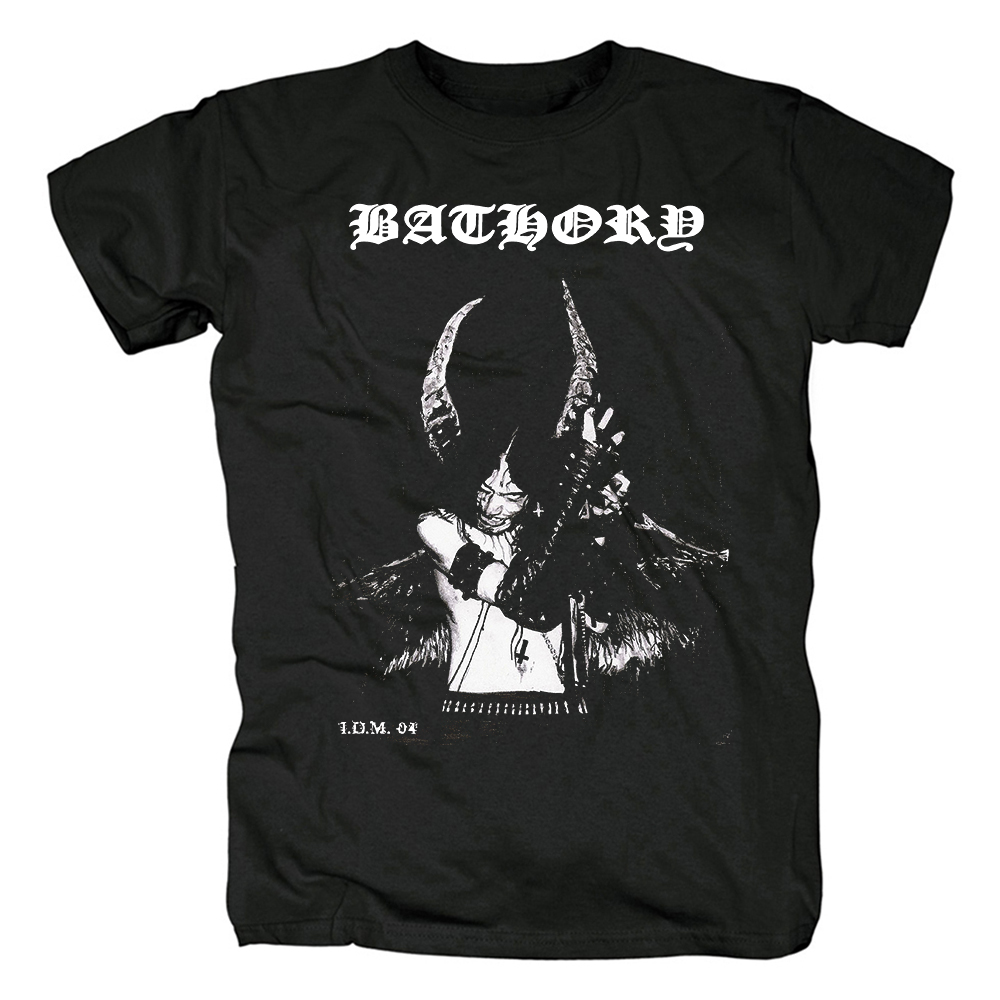Merchandise T-Shirt Bathory Satan Is My Master