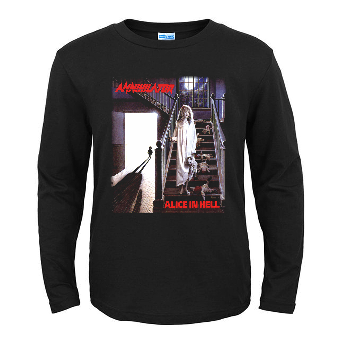 Merch T-Shirt Annihilator Alice In Hell