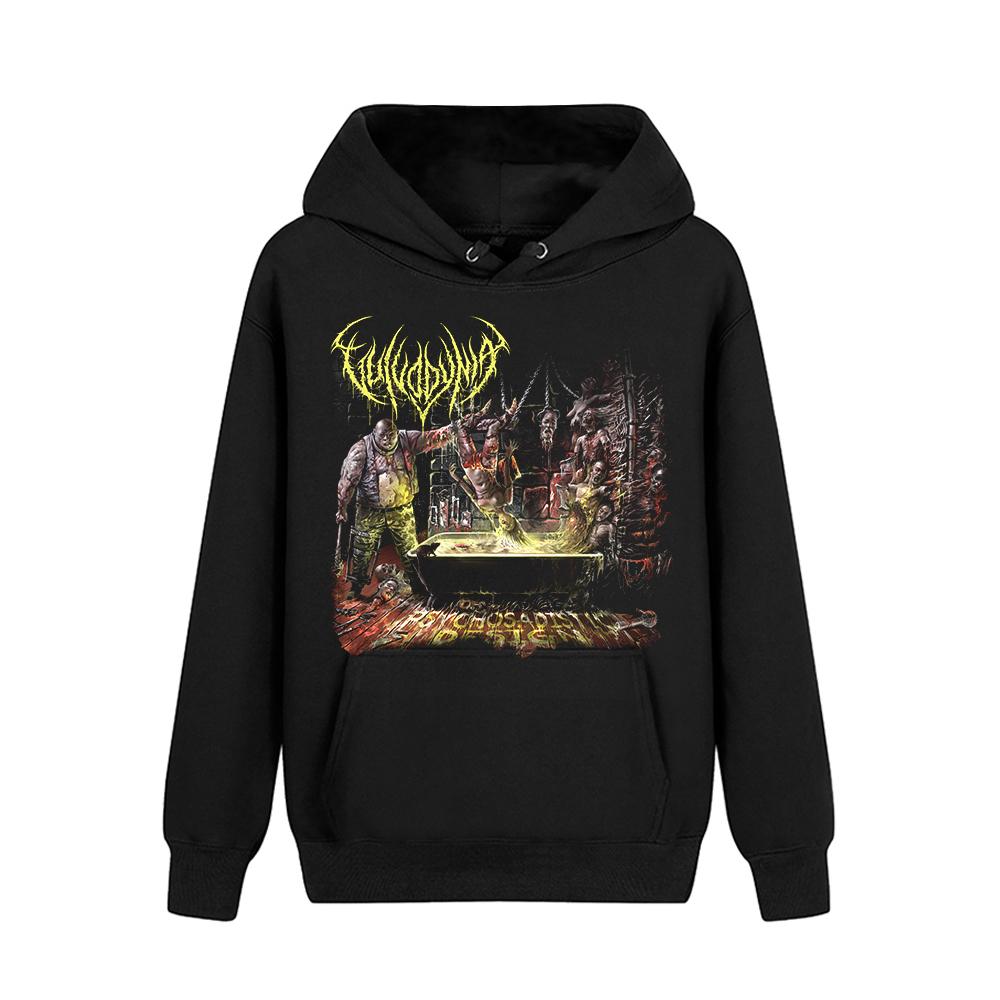 Merch Hoodie Vulvodynia Psychosadistic Design Pullover