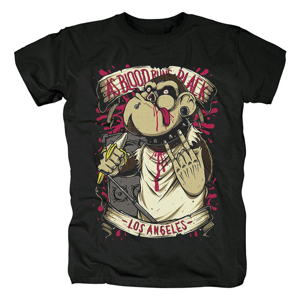 Merch T-Shirt As Blood Runs Black Los Angeles