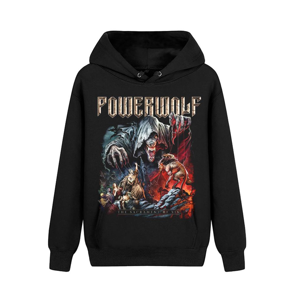 Merch Hoodie Powerwolf Sacrament Of Sin Pullover