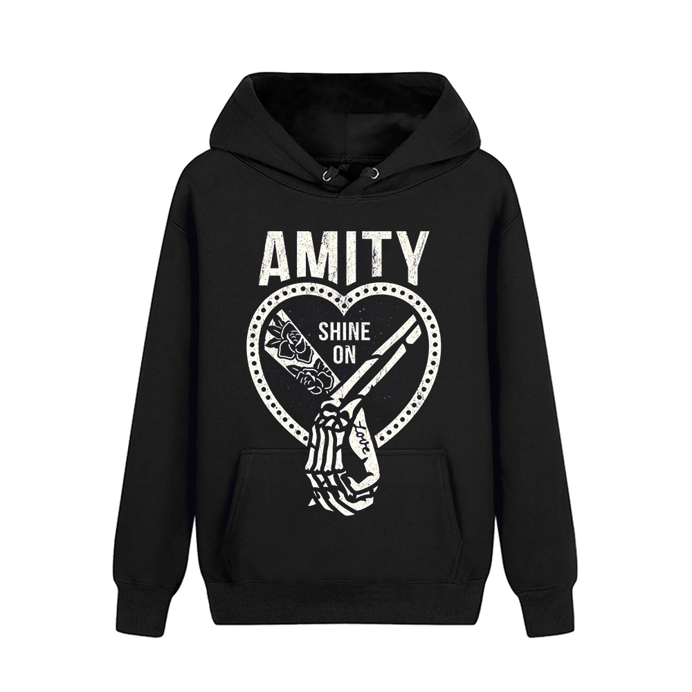 Collectibles Hoodie The Amity Affliction Shine On Logo Pullover