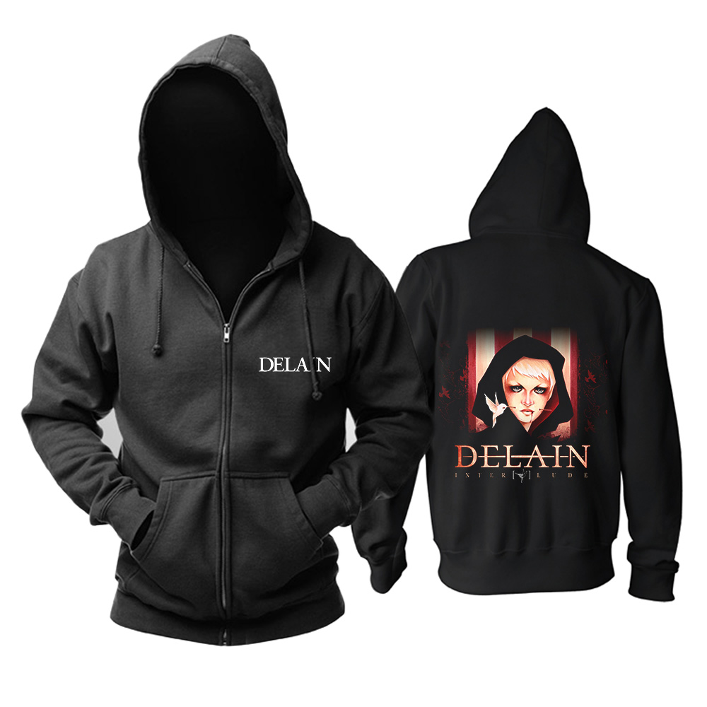 Collectibles Delain Hoodie Interlude Black Pullover