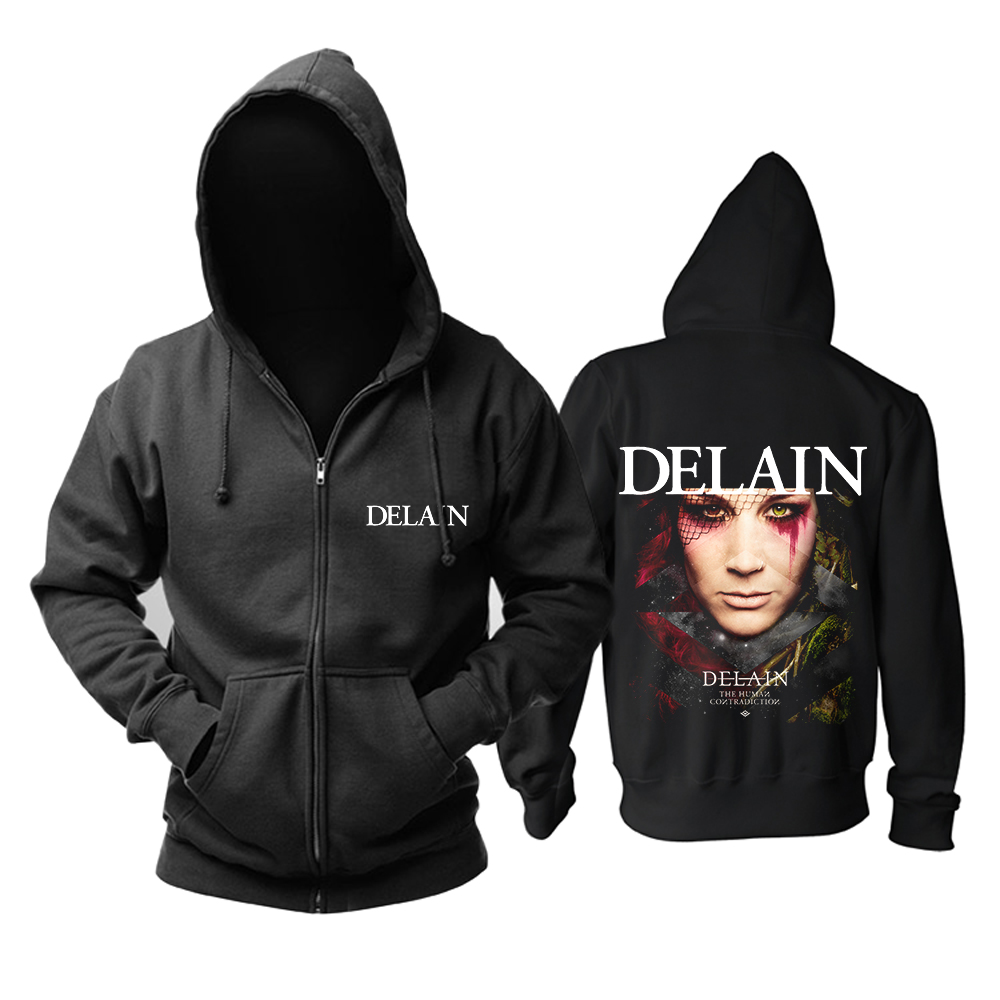 Collectibles Hoodie Delain The Human Contradiction Pullover