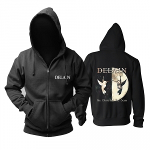 Merch Hoodie Delain The Glory And The Scum Pullover