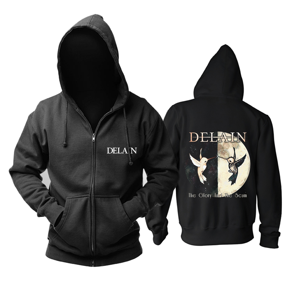 Merchandise Hoodie Delain The Glory And The Scum Pullover